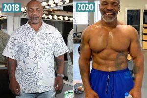 Mike Tyson giảm 45 kg