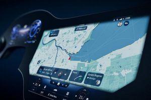 Mercedes hé lộ màn hình giải trí MBUX 'Hyperscreen' siêu to khổng lồ