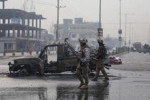 Nổ bom tự chế làm rung chuyển thủ đô Kabul