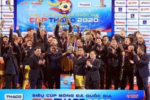 Hà Nội FC lần thứ 4 giành Siêu cúp, thầy Park quyết cùng học trò giành 'cú ăn 4'