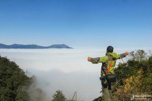 Săn mây ở miền Tây xứ Nghệ