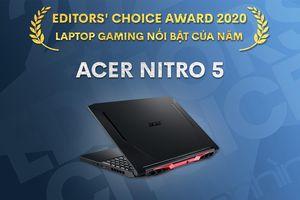 Editors' Choice Awards 2020: Laptop gaming nổi bật năm 2020 - Acer Nitro 5