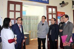 Bệnh viện Huế chuyển giao kỹ thuật cho Trung tâm Y tế huyện Nghi Xuân