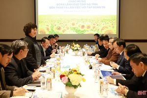 Tập đoàn TH dự kiến đầu tư 3 dự án lớn trên địa bàn Hà Tĩnh