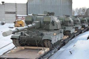 Quân đội Nga nhận thêm pháo tự hành 2S35 Koalitsiya-SV