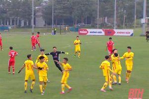 U19 Đông Á Thanh Hóa giành chiến thắng trước U19 Viettel ở trận ra quân vòng loại giải U19 quốc gia
