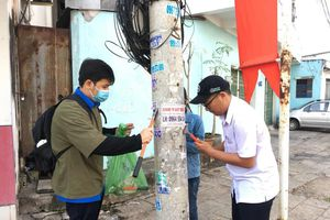 300 ĐVTN huyện Long Điền ra quân ngày Chủ nhật xanh