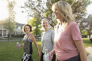 Não trung niên 'hưởng lợi' từ việc tập thể dục 10 phút/ngày