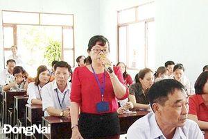 Huyện Vĩnh Cửu: Lãnh đạo đối thoại với viên chức ngành Giáo dục