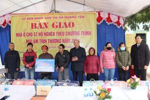 Quảng Yên: Bàn giao 57 căn nhà Mái ấm tình thương cho hộ nghèo năm 2020