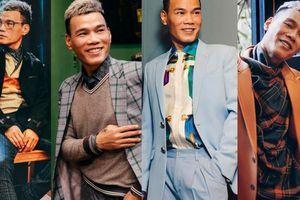 Nhà thiết kế Tiến Lợi biến hóa hình ảnh trẻ trung với trang phục do mình thiết kế