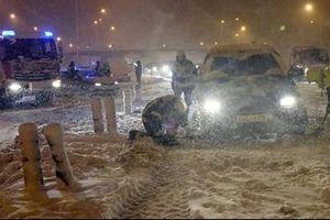 Tây Ban Nha hỗn loạn vì bão tuyết 'tồi tệ nhất' trong 50 năm