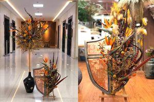 Ngắm những tác phẩm tuyệt đẹp của nghệ sĩ hoa Việt Nam