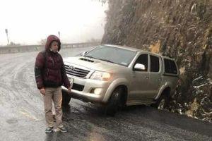 Những lưu ý khi lái xe trên mặt đường đóng băng