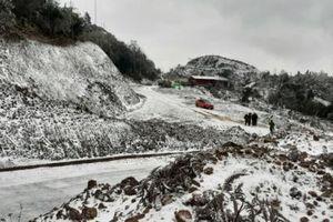 Nhiệt độ dưới 0 độ C, Y Tý tuyết rơi dày, Sa Pa có mưa