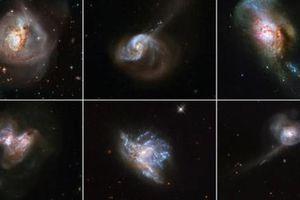6 thiên hà đang xảy ra điều được dự báo 'làm văng Trái Đất'