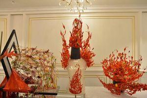 Chiêm ngưỡng những tác phẩm tuyệt đẹp của nghệ sĩ hoa Việt Nam