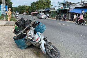 Giả người bán rau củ, dùng xe mô tô vận chuyển 16kg cần sa