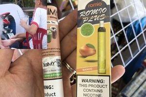 Những sự cố nghiêm trọng về sức khỏe do học sinh hút thuốc lá điện tử
