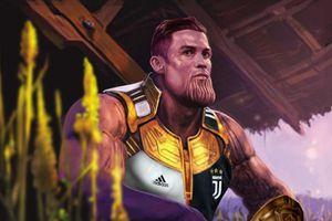 Ảnh chế: Ronaldo hóa Thanos, búng tay lập kỷ lục