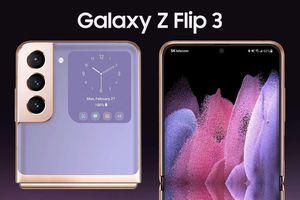 Rò rỉ hình ảnh render sắc nét của Galaxy Z Flip 3