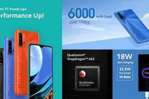 Xiaomi Redmi 9T ra mắt: Giống Redmi Note 9 4G đến 99%