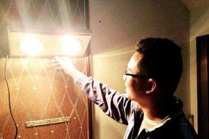 Lưu ý vàng khi dùng đèn sưởi nhà tắm mùa đông