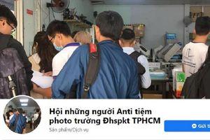 Sau loạt group anti nghệ sĩ, xuất hiện group anti tiệm photocopy ĐH Sư phạm Kỹ thuật TP.HCM gây xôn xao