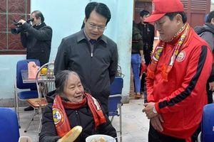 'Tết ấm tình thương' đến sớm tại Trung tâm Điều dưỡng người có công và Bảo trợ xã hội Hà Tĩnh