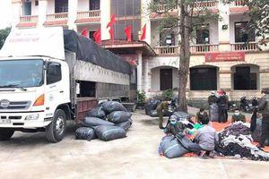 Bắt giữ xe ô tô chở lô hàng trị giá 1 tỷ đồng không rõ nguồn gốc tại Quảng Bình