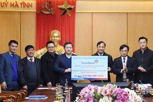 VietinBank trao hỗ trợ Hà Tĩnh hơn 41 tỷ đồng cho hoạt động an sinh xã hội