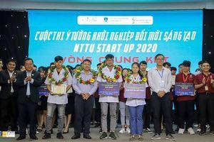 Sinh viên Trường Đại học Nguyễn Tất Thành trở thành quán quân Cuộc thi Khởi nghiệp Quốc gia 2020
