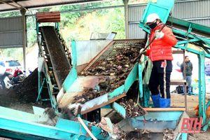 'Mục sở thị' hệ thống xử lý rác thải sinh hoạt bằng chế phẩm sinh học tại Thanh Hóa