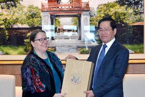 Bí thư Tỉnh ủy Phạm Viết Thanh tiếp Tổng Lãnh sự Hoa Kỳ tại TP. Hồ Chí Minh