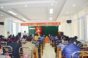 Đối thoại, làm việc với một số hộ dân phường Quang Hanh (Cẩm Phả)