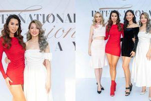 Hà Anh, Quỳnh Lương, Kelly Nguyễn,… nổi bật trên thảm đỏ sự kiện International Fashion Runway 2021