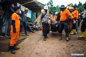 Số người chết trong vụ lở đất tại Indonesia gia tăng