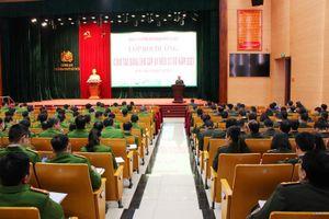 Công an Hà Nội khai mạc lớp 'Bồi dưỡng nghiệp vụ công tác Đảng cho cấp ủy viên cơ sở năm 2021'