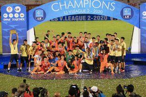 Tân binh Bình Định gây chú ý vòng khai màn V-League 2021
