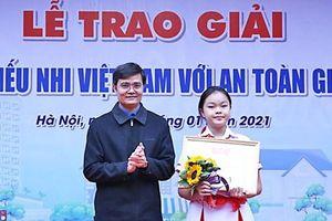 Trao giải 'Thiếu nhi Việt Nam với an toàn giao thông' năm 2020