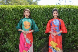 Á hậu Phương Anh, Ngọc Thảo gợi ý áo dài Tết nhiều màu