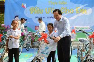 Chương trình 'Điều ước cho em' đến tỉnh Trà Vinh