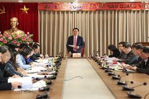 Kiện toàn bộ máy Ban chỉ đạo quản lý tổ chức bộ máy, biên chế Hà Nội
