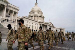 15.000 Vệ binh Quốc gia được triển khai cho lễ nhậm chức của ông Biden