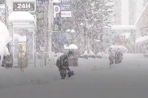 Bão tuyết bao phủ Nhật Bản