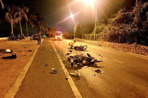 Xe máy tông nhau làm hai người tử vong tại Phan Thiết