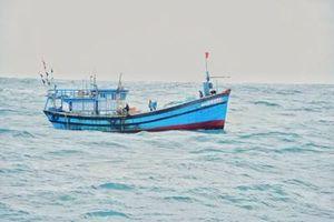 Tàu KN 360 hỗ trợ cấp cứu ngư dân Đà Nẵng bị nạn trên biển