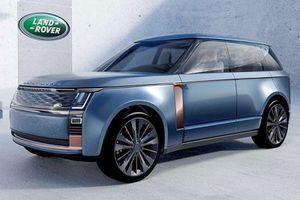 Range Rover 2022 lộ diện nội thất với màn hình 'siêu to khổng lồ'