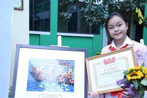 Trao giải cuộc thi vẽ tranh 'Thiếu nhi Việt Nam với An toàn giao thông' năm 2020