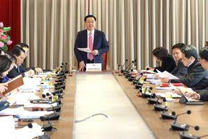 Kiện toàn Ban chỉ đạo quản lý tổ chức bộ máy, biên chế Hà Nội